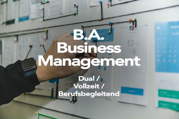B. A. Business Management - AFUM Akademie für Unternehmensmanagement