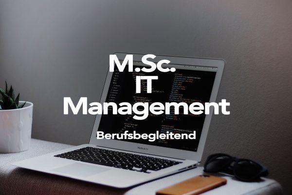 M. Sc. IT Management - AFUM Akademie für Unternehmensmanagement