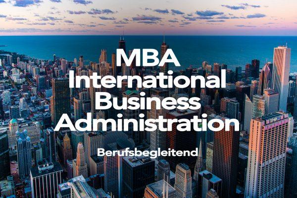 MBA International Business Administration - AFUM Akademie für Unternehmensmanagement