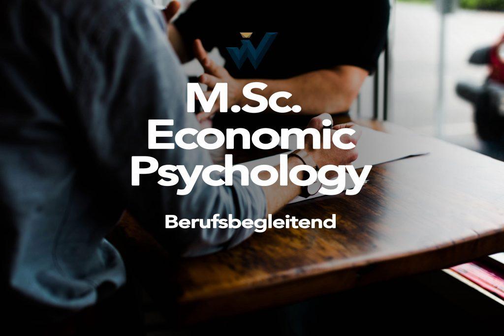 M. Sc. Economic Psychology - AFUM Akademie für Unternehmensmanagement
